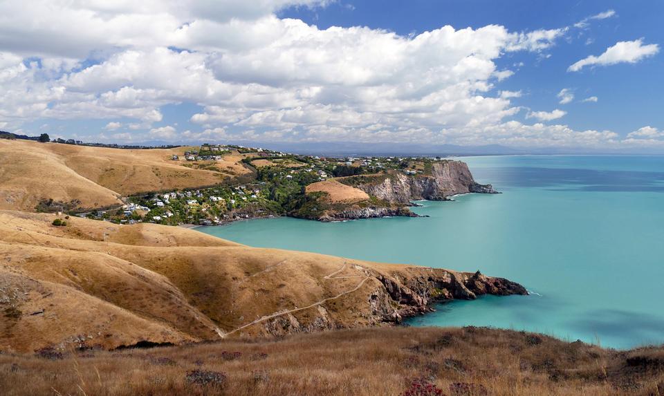 Akaroa, péninsule de Banks, Nouvelle-Zélande