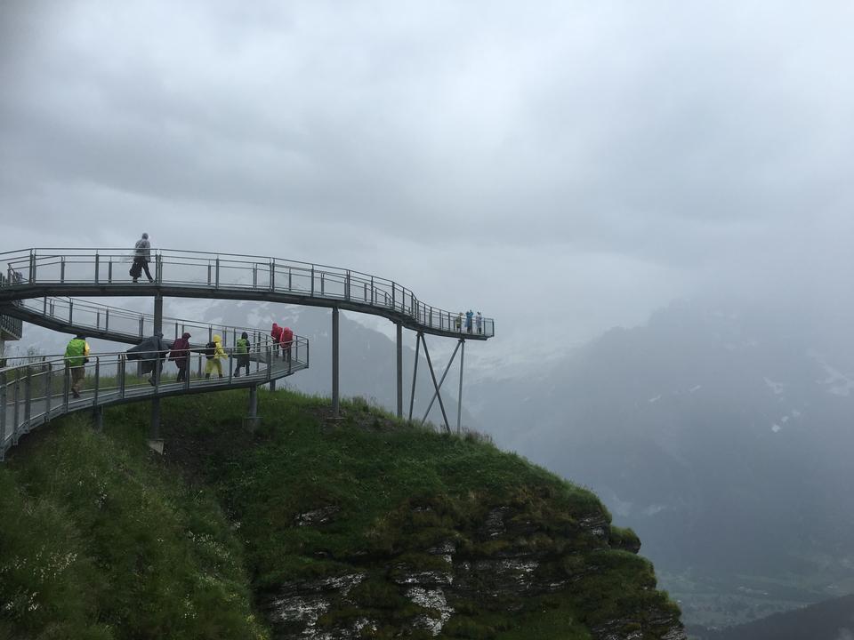 スイスの美しさ、ユングフラウ