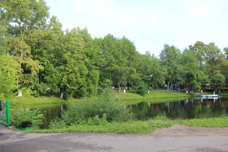 Park in Vologda