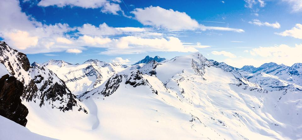Austria's highest mountain, the Grossglockner