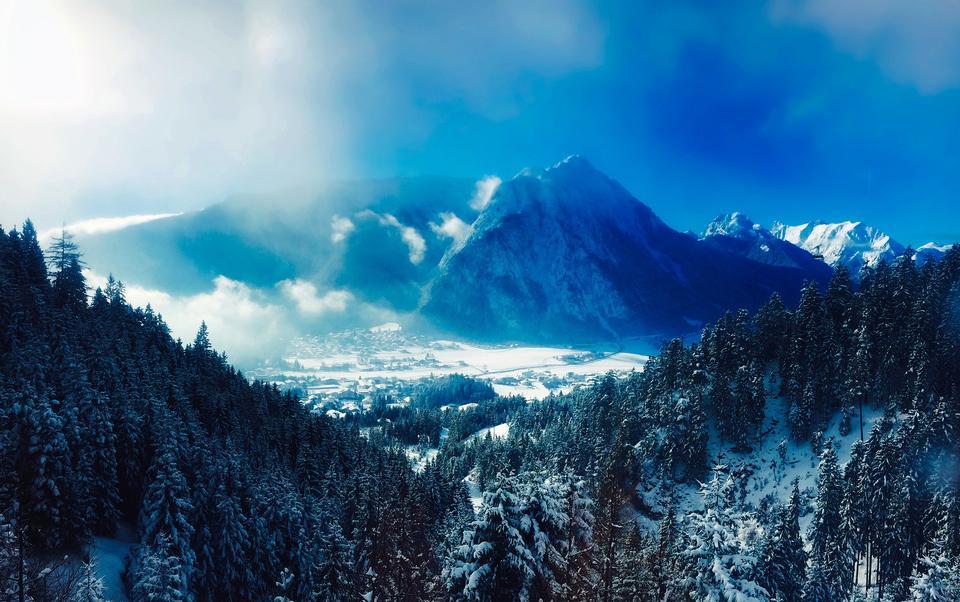 Riesenfernergruppe山脈的最高峰