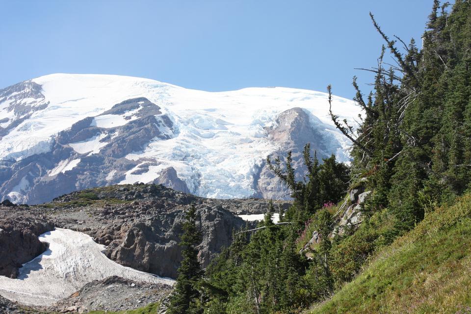 雷尼爾山冰川
