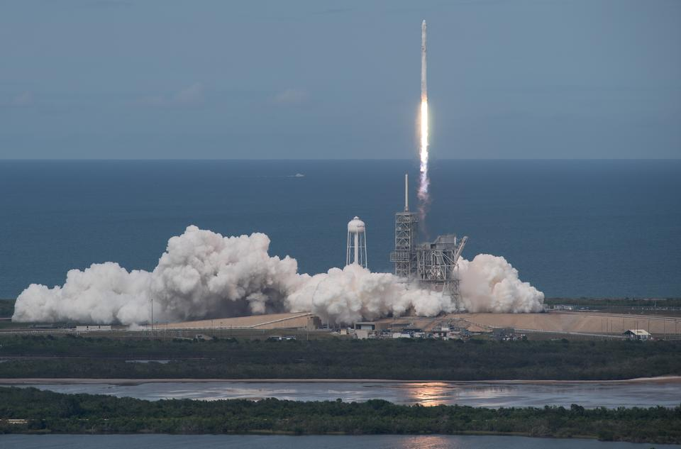SpaceX Falcon 9火箭