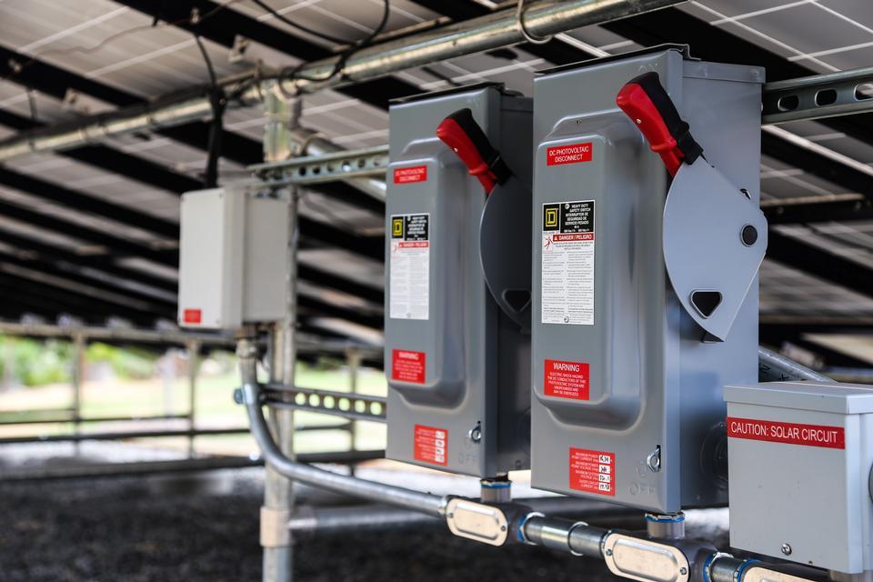 Solar pannel instalation