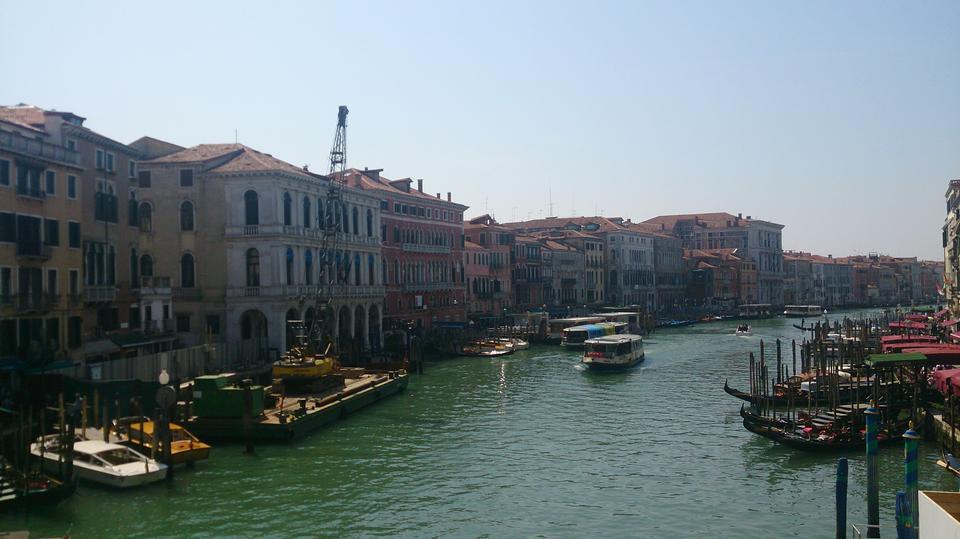 Grand Canal, Venise, Marche