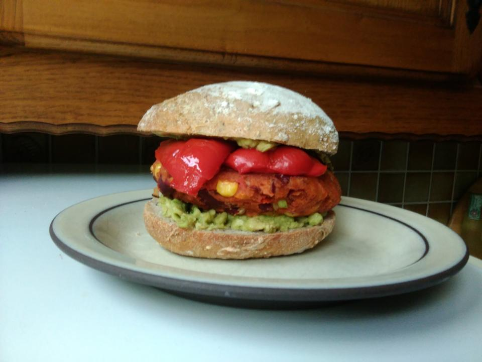 Veggie Burger homemade