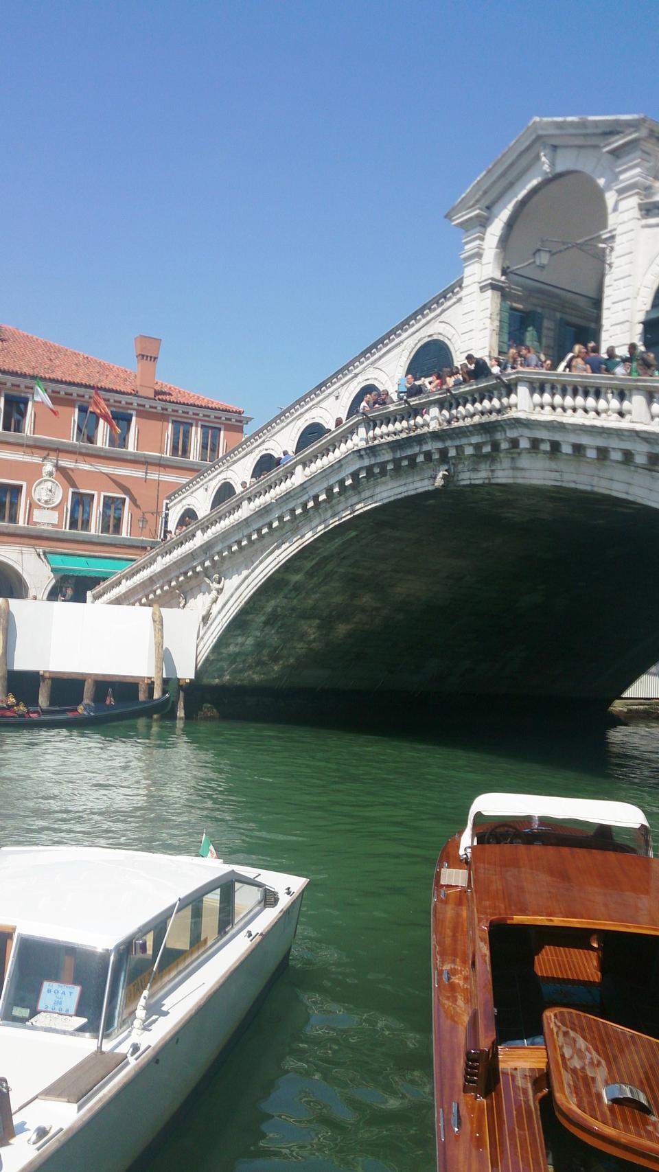 Grand Canal, Venice, Rialto