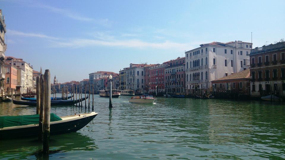 大运河,威尼斯,船