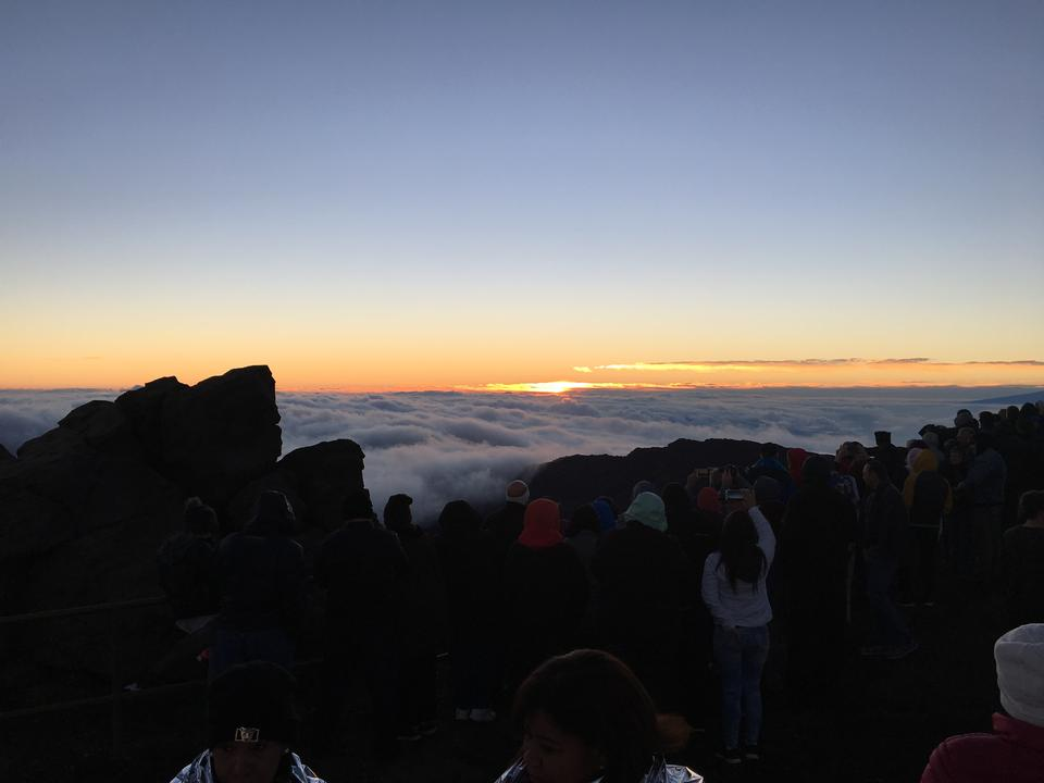 Sunrise Haleakala National Park, Maui, Hawaii
