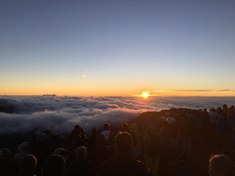 Sunrise Haleakala National Park, Maui, Hawaii