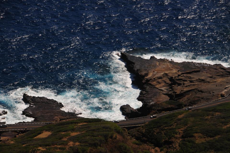 オアフ島ハワイの景色