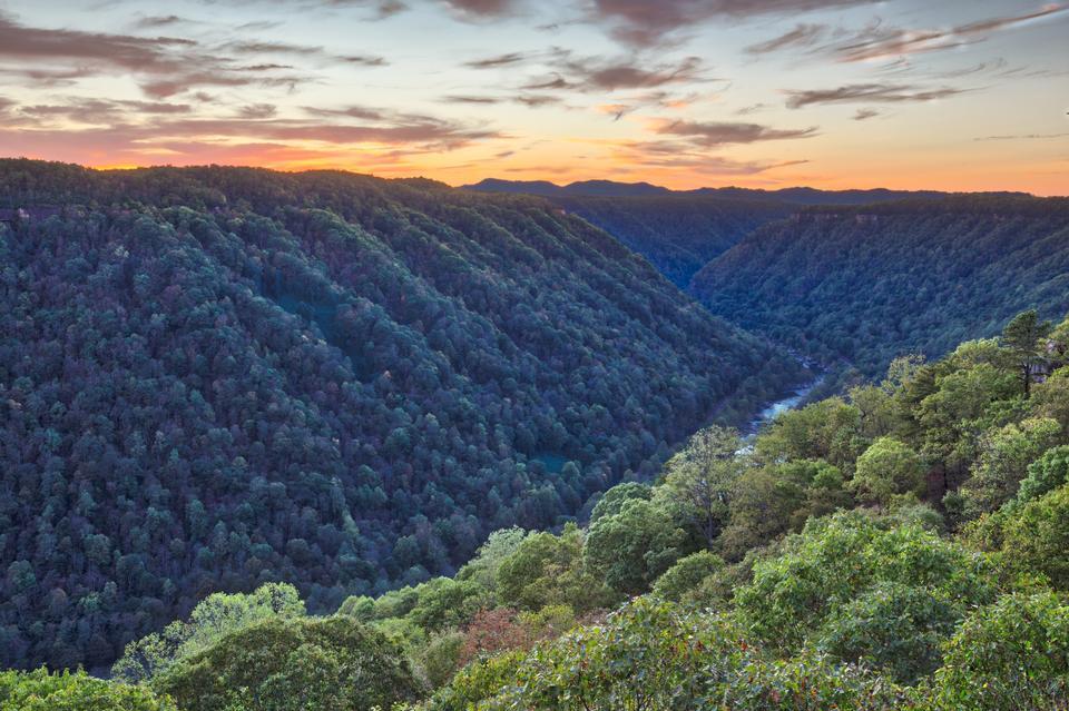 ニューリバー渓谷、ウェストバージニア州