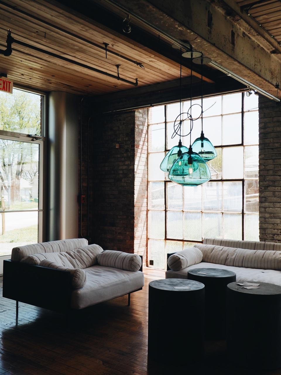 living room of luxury house