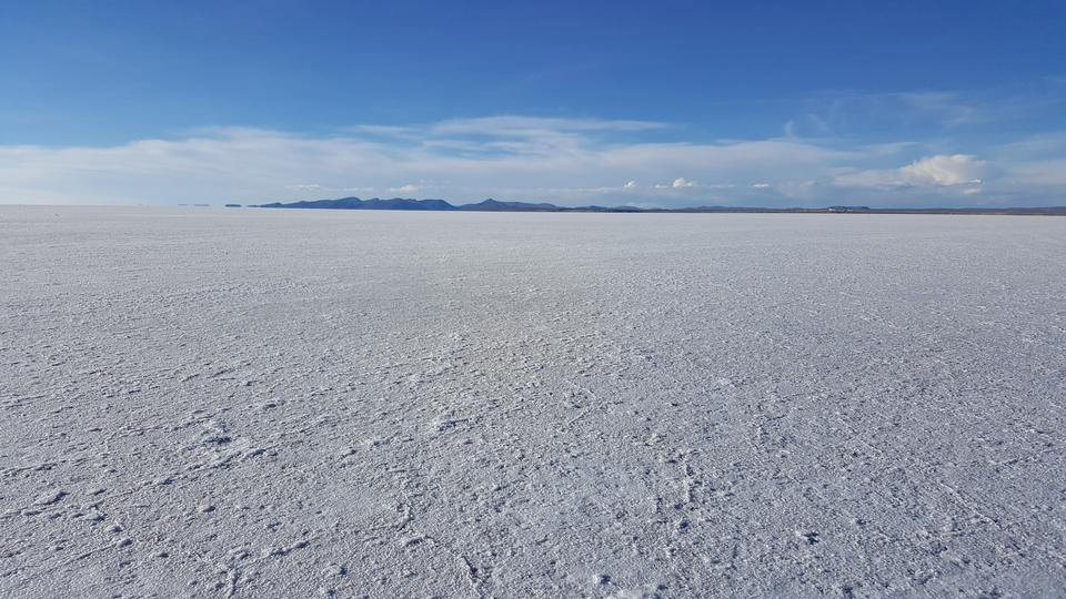 Salar de Uyuni is largest salt flat in the World