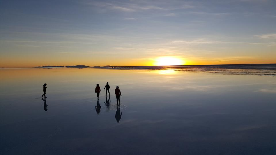 Salar de Uyuni is largest salt flat in the World