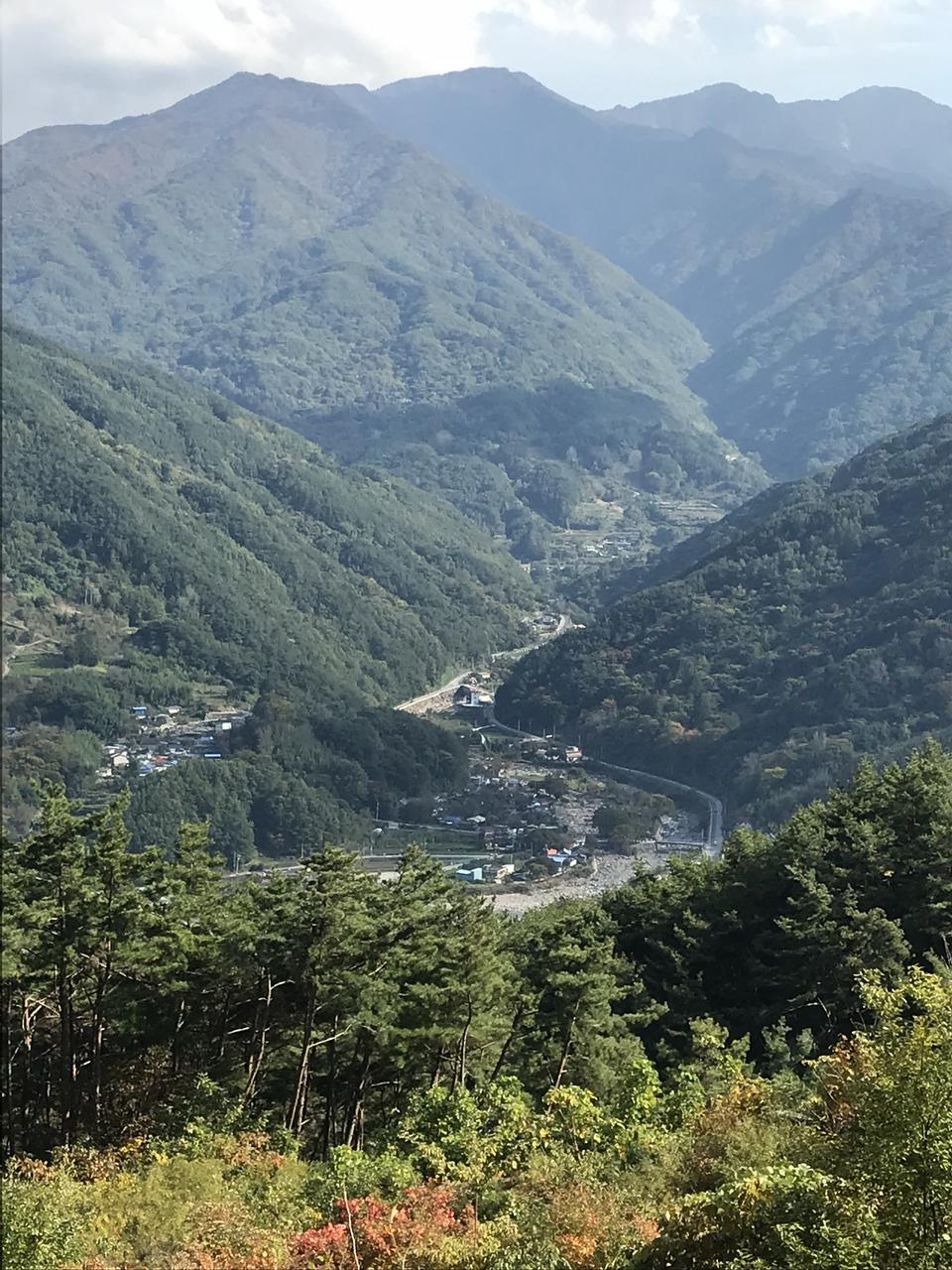 Sendero Doolare Dool Regil en el parque nacional Jirisan S.Korea