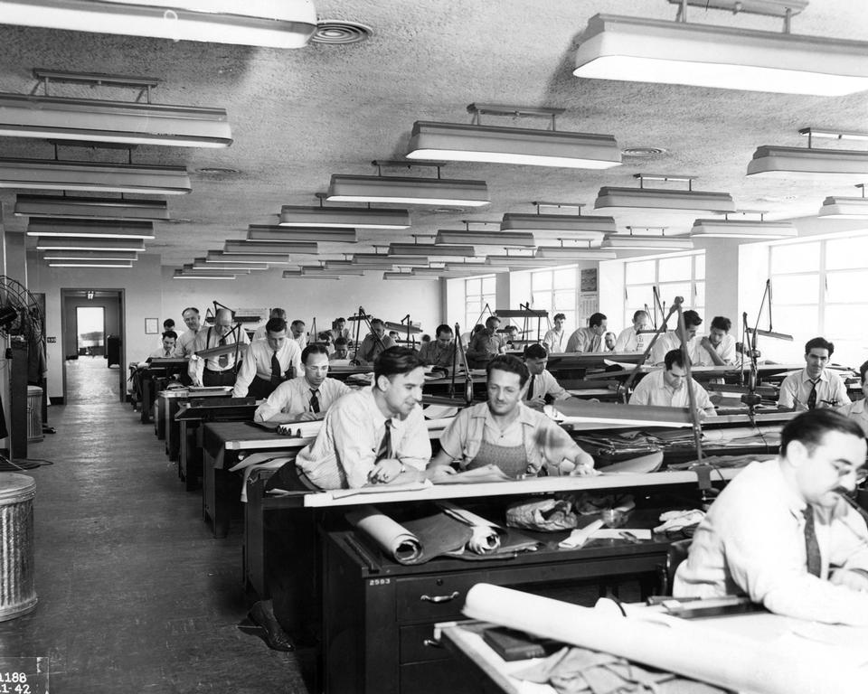 interior view of Drafting Room