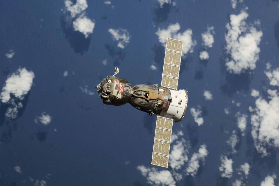 Soyuz TMA-08M vehicle