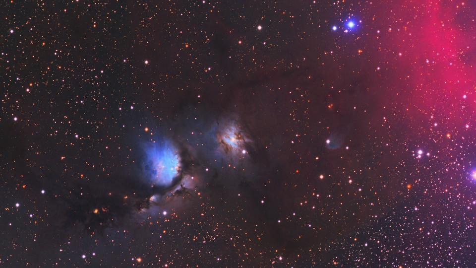 Messier 78 - A reflection nebula in the constellation Orion