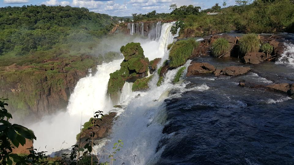 Iguazu falls, one of the new seven wonders of nature