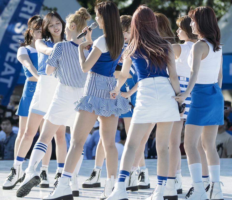 K-pop Idol集团2017年两次表演