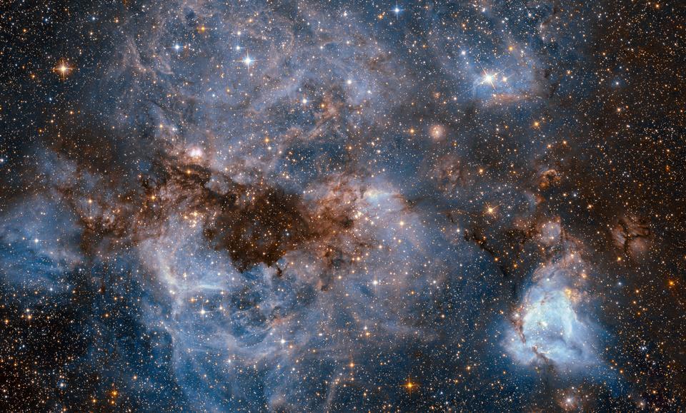 El telescopio espacial Hubble muestra una vorágine