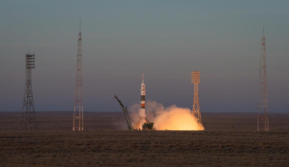 Soyuz MS-11 spacecraft launched