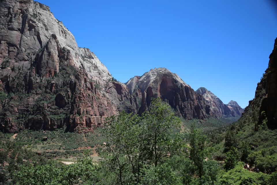 The Valley at Zion National Park via Angel Landing trail