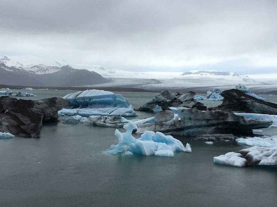 Jokulsarlon冰川泻湖,冰岛