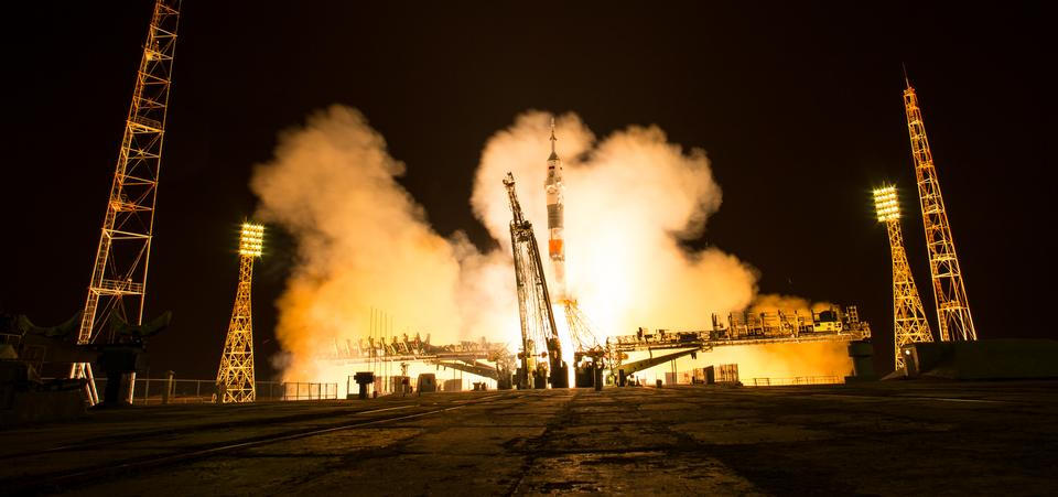 Une vue d'un lancement