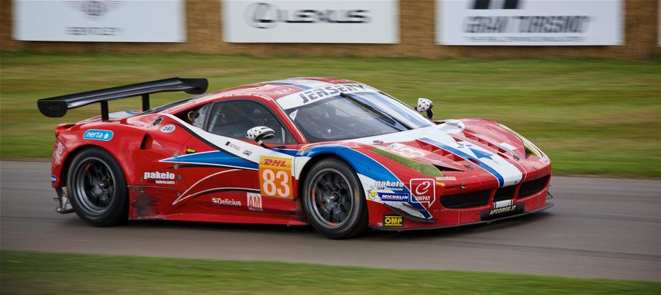 The race , Exotic sports car racing