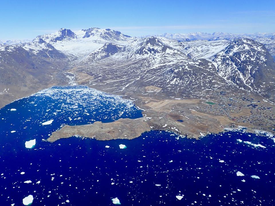 南格陵兰镇Narsaq