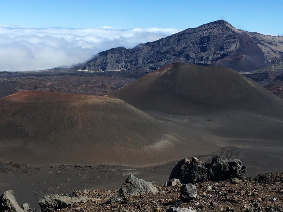 Trail in Haleakala National Park, Maui, Hawaii