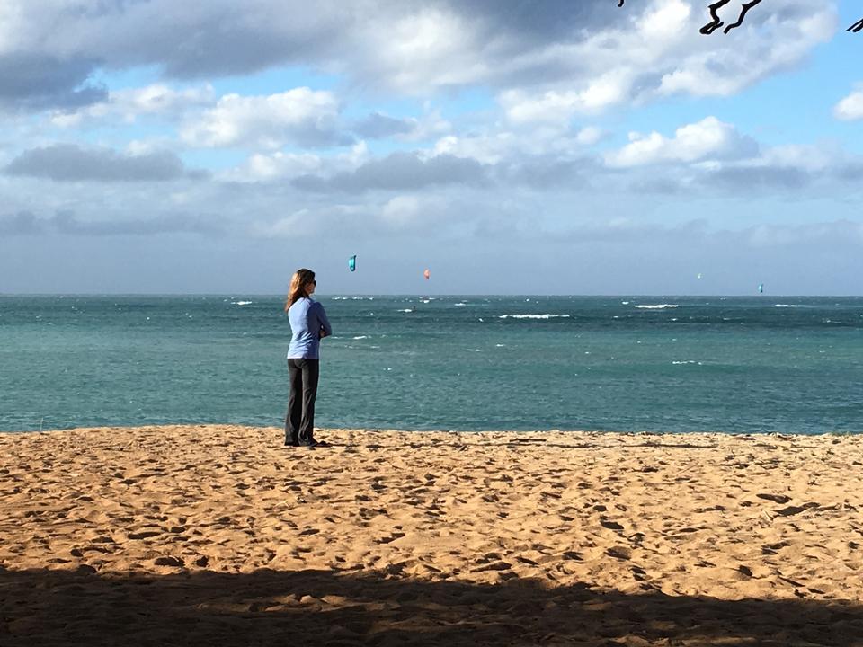 在毛伊岛上的那不勒斯海滩