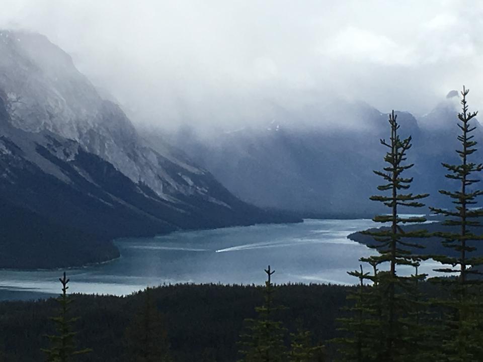 Bald Hills und Maligne See, Jasper National Park, Kanada