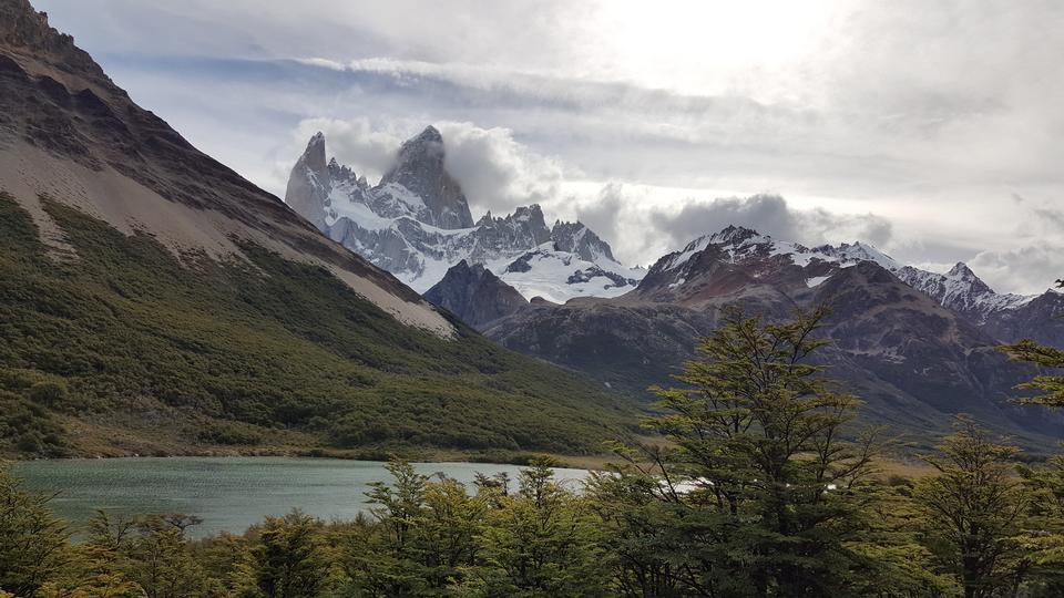 塞羅托雷,冰川國家公園,阿根廷巴塔哥尼亞