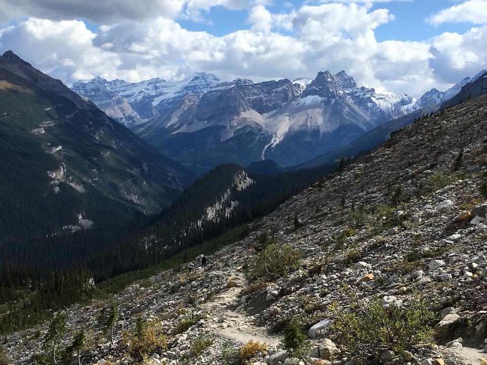 加拿大落基山脈和薩斯喀徹溫省冰川