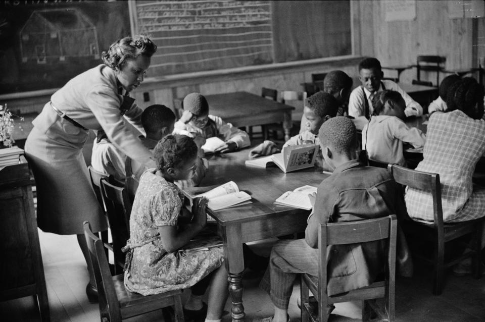 Primary class in new school