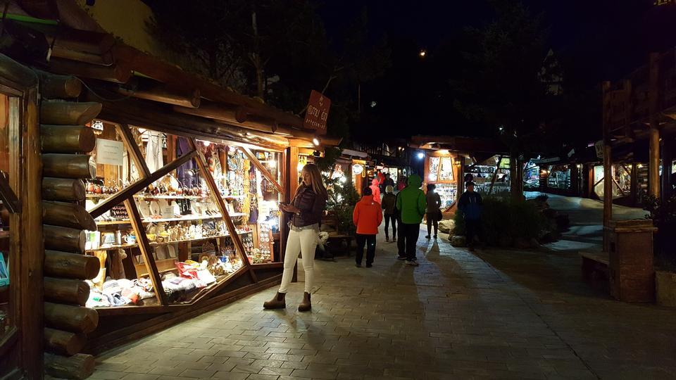 El Chalten, small mountain village in Santa Cruz