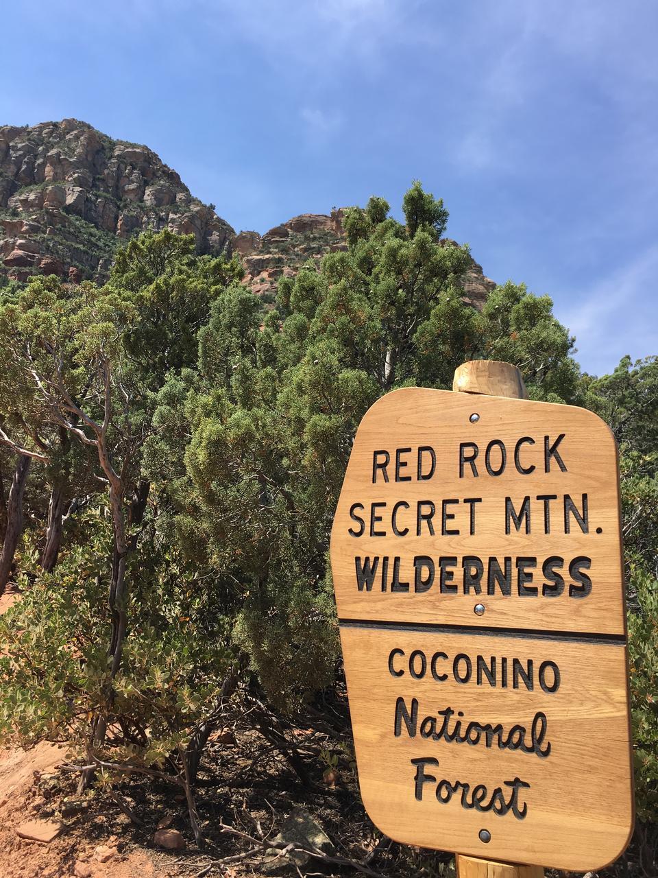 Red Rock Secret Mountain Wilderness vista