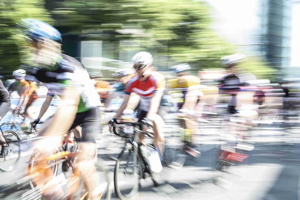 2018年:柏林Velothon自行车赛