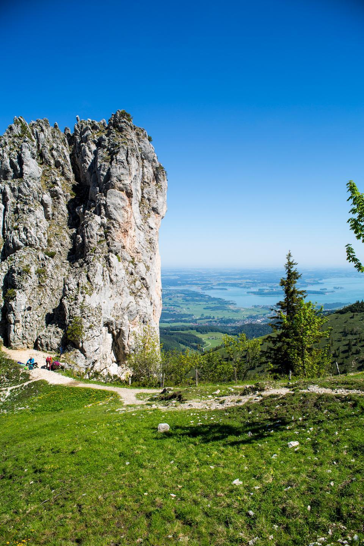 Kampenwand, Chiemsee, Bavaria, Germany