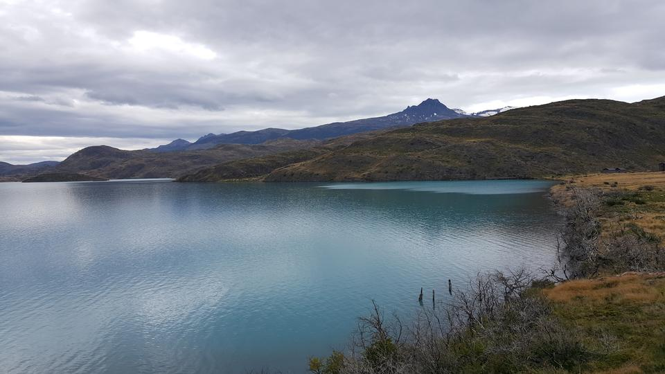 Torres Del Paine National Park, Chile Pehoe lake