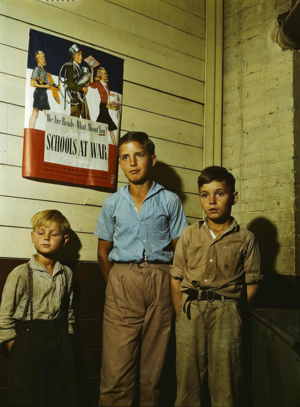 Rural school children