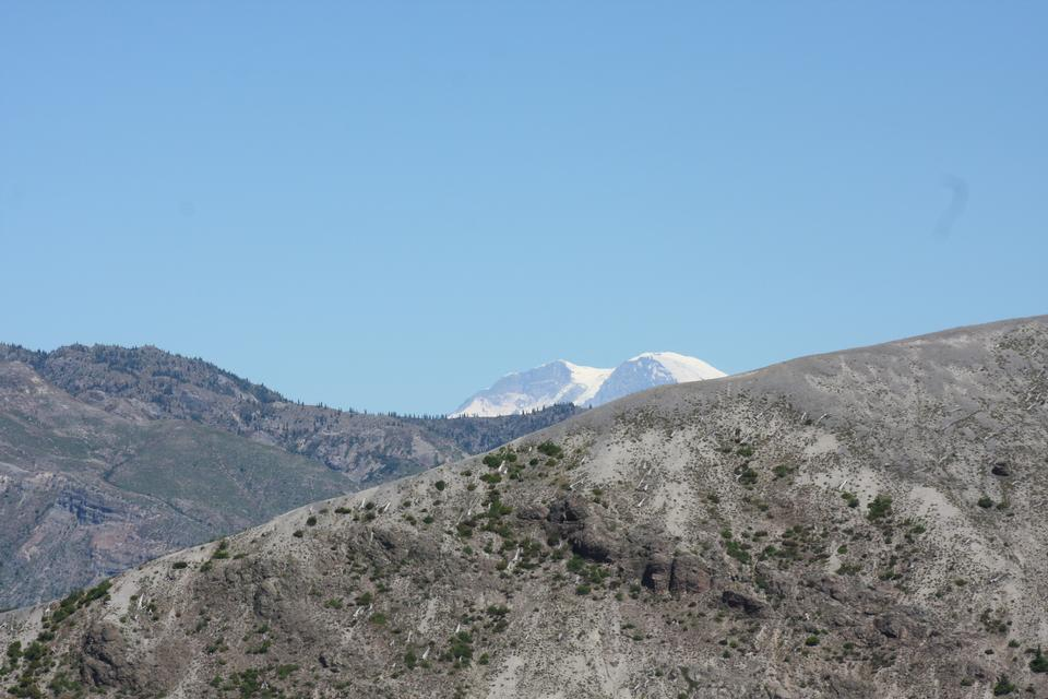 Windy Trail of Mount Saint Helens