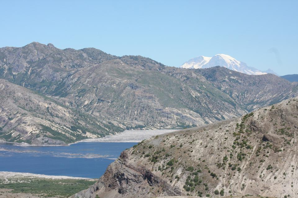 Coldwater Lake of Mount Saint Helens
