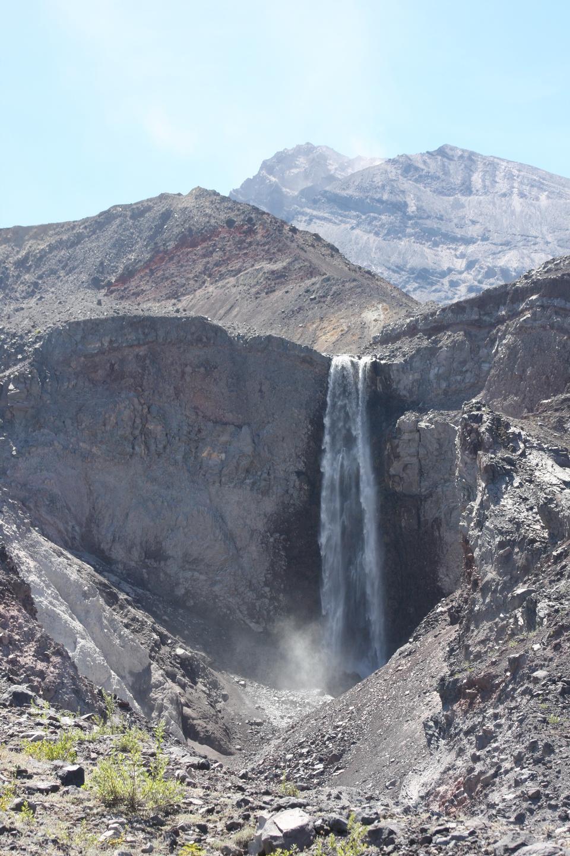 Loowit Falls of Mount Saint Helens