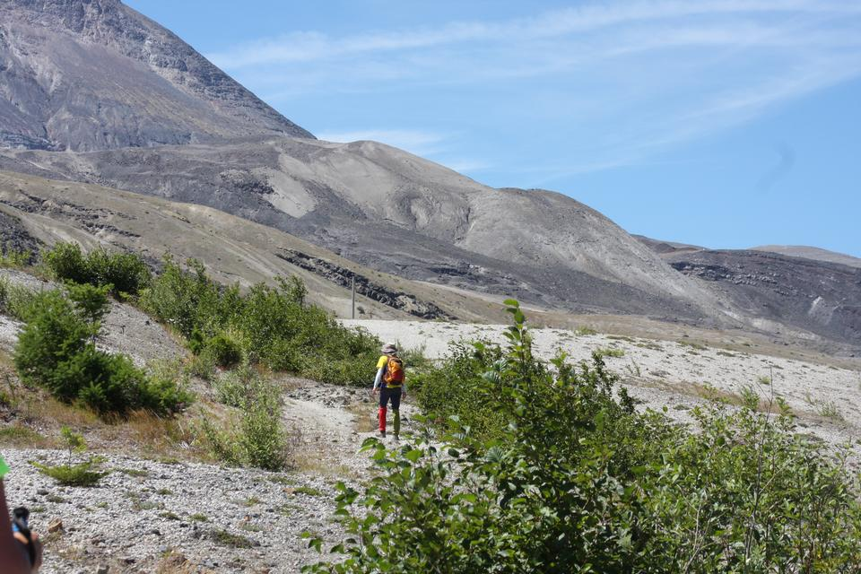 Loowit Trail of Mount Saint Helens