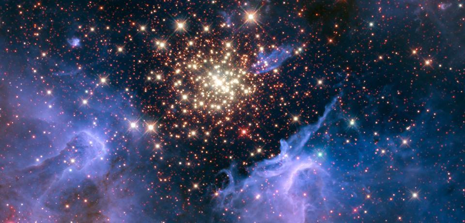 天体の花火の爆発