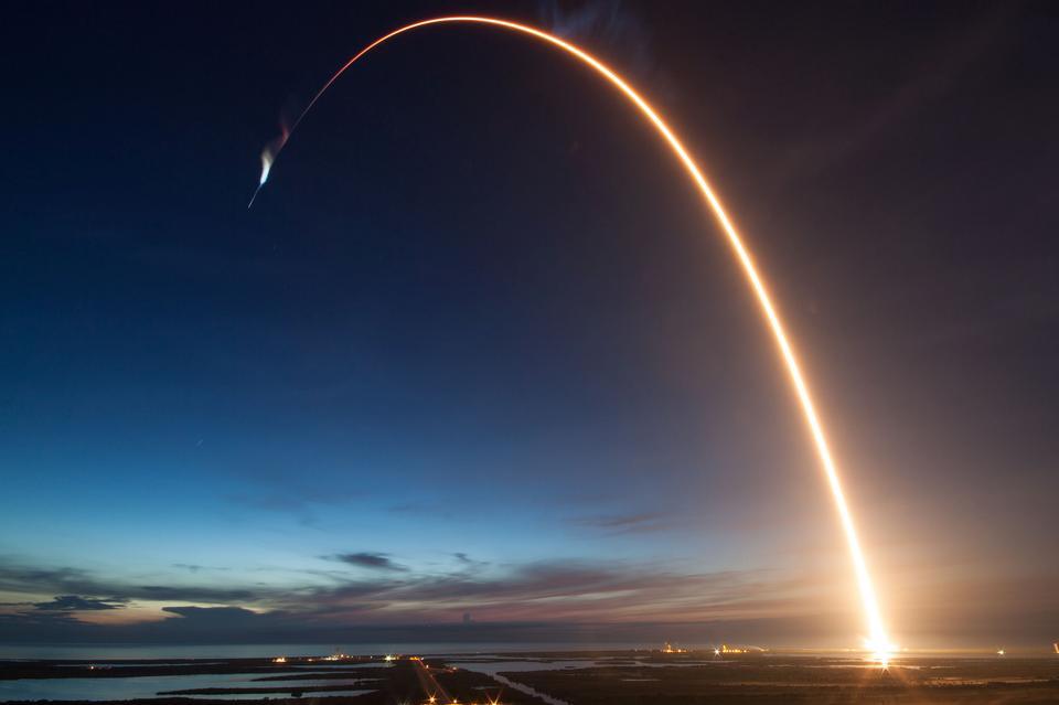 SpaceX Falcon 9 Rocket發布